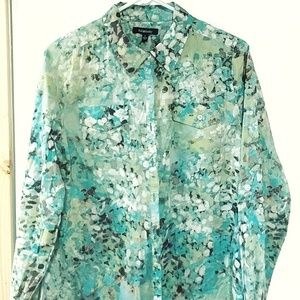 Brand new! Relativity Watercolor Blouse